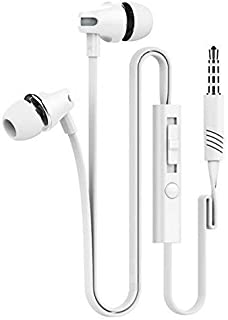 D & K Exclusives® Earphones Headphones Earbuds with Mic & Remote Control for iPhone 6/6s/6 Plus/6s Plus/ 5/5c/5s, iPad/iPod, Android Smartphone MP3 Players
