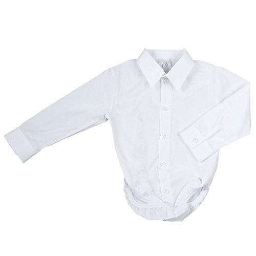 Baby Hemd - Body für Jungen weiß klassisch Modell A-1991 Gr. 86
