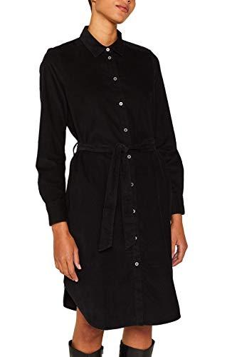 ESPRIT Damen 109Ee1E019 Kleid, Schwarz (Black 001), (Herstellergre: 42)