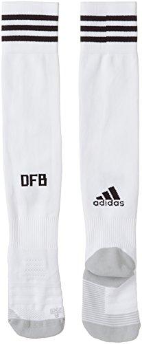 adidas DFB Home 2018 Camiseta de Equipación, Hombre, Blanco/Negro, L