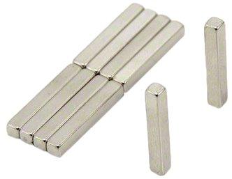 Magnet Expert 3 x 3 x 20 mm d'épaisseur N42 Néodyme Aimant - 0.49 kg Pull (multiple de 10)