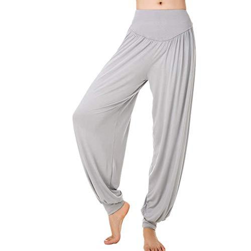 A/N Herbst Damenhosen Bloomers lose Yogahosen Nahaufnahme Plus Größe Tai Chi Hosen Yoga Kleidung Yogahosen