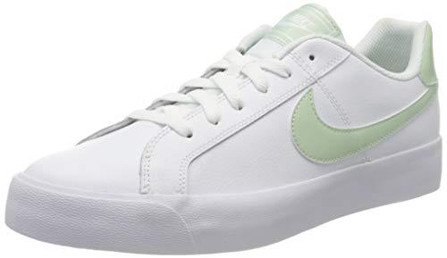 Nike Court Royale AC, Zapatillas Mujer, Blanco (Escarcha Blanca/Pistacho), 40.5 EU