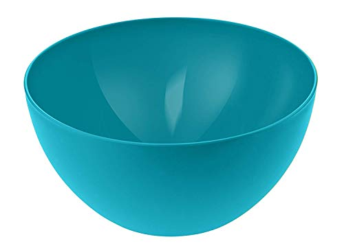 Rotho Caruba kleine Schüssel 3l, Kunststoff (PP) BPA-frei, blau, 3l (22,5 x 22,5 x 11,0 cm)