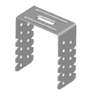 Direktabhänger 65 mm für CD-Profile 60/27 50 Stück