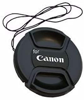 SHOPEE 58mm Front Lens Cap for Canon 5d/650d/ 1100d/ 600d/700d/1200d/1300d with 18-55mm & 55-250mm Lens