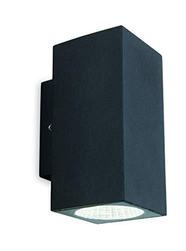 Firstlight Dino LED 2 wandlamp, grafiet
