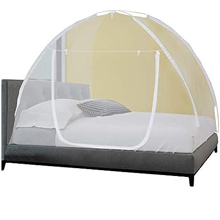 Probache - Moustiquaire dôme Pop-up 195x150 cm Mobile pour lit