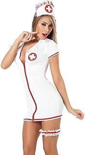 Fashion Uniform White Women Lingerie Ladies Nightwear Sleepwear(41362)
