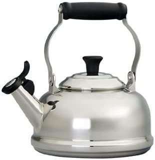 Le Creuset 1.75 -Quart Stainless Steel Whistling Tea Kettle