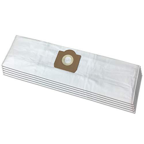 MohMus 5 Microfibra Bolsas de Aspiradora para KÄRCHER: 1.347-108, ROWENTA: Wet&Dry, LAVORWASH: NTS 20, NTS20, KÄRCHER: A2224 PT, ROWENTA: ZR815, KÄRCHER: A2654 Me