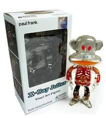 Paul Frank Vinyl Art Figure Julius - X-Ray Julius