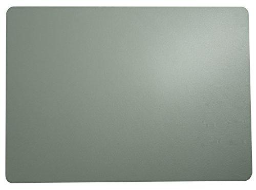 ASA Selection Lot de 4 sets de table 33 x 46 cm aspect cuir menthe