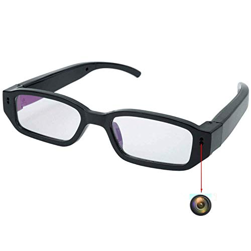 Flylinktech HD Mini Spy Glasses Hidden Camera...