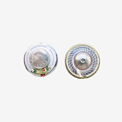 WNJ-TOOL, 2 stück Mini Kopfhörer Lautsprecher Fahrer für Bluetooth Kopfhörer Telefon 7 8 Headset DIY 14.25mm Dome Titan Film N42 Neodym