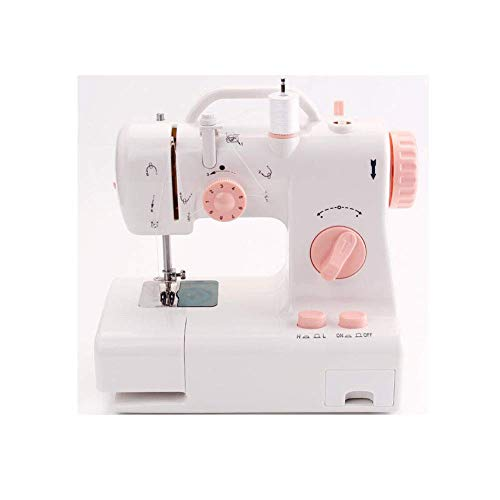 Best Buy! MAOFALZZNA Small Mini Electric Sewing Machine for Household use, Portable Mini with Built-...