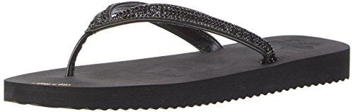 flip*flop Flip Glam Damen Zehentrenner, Schwarz (Black 0000), 39 EU