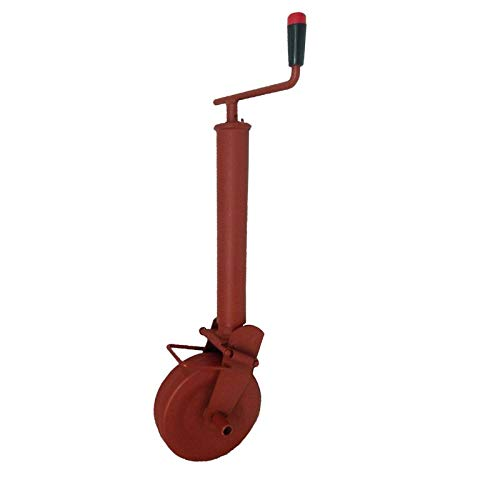 SIMOL Stützrad 1000 kg halbautomatisch mit Federverriegelung für Anhänger & Agrar