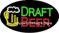 ドラフトビールFlashing & Animated High Impactエネルギー効率的なLEDサイン