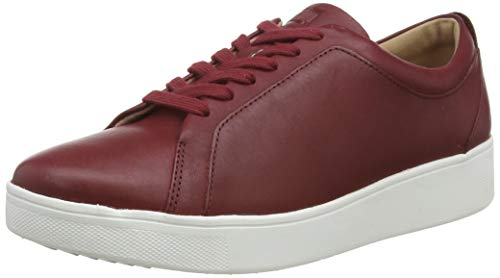 FitFlop Women's Low-Top Trainers, Red Ss20 Ruby Wine 790, 11