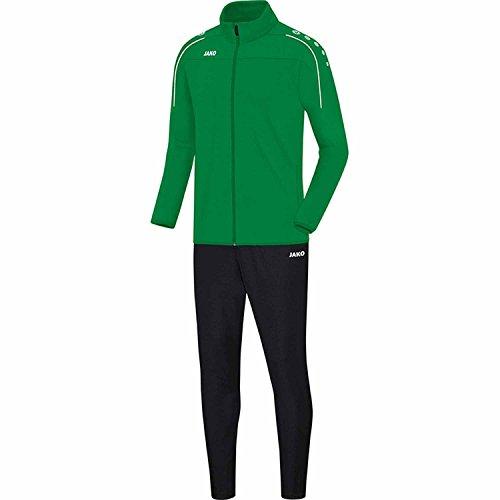 JAKO Herren Trainingsanzug Classico C8150 Sportgrün XL