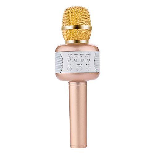 Bluetooth Microfoon, Stereo Handheld Karaoke Met 360 Degree Noise Reduction Compatibel Met Android En Ios-Apparaten Voor Party/Kids Zingen