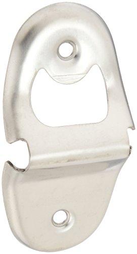 Winco Abridor de garrafa de aço inoxidável CO-401, montado na parede, médio
