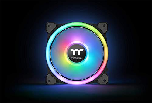 Thermaltake Riing Trio 12 RGB Gehäuselüfter TT Premium Edition 3er Set mit Softwaresteuerung