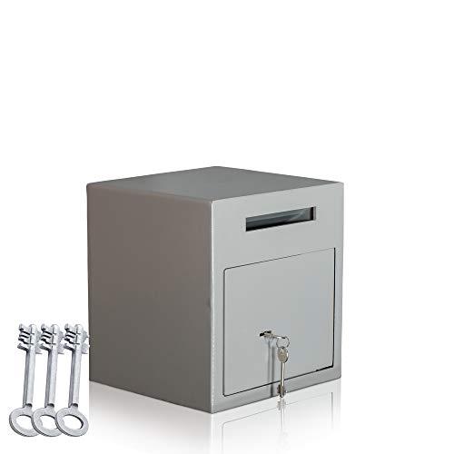 Einwurftresor | Briefkasten Safe | Deposittresore | Depositsafe|3 x Schlüssel