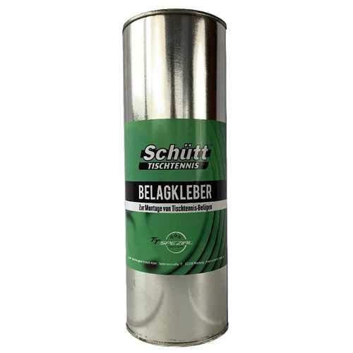 Schütt Tischtennis Belagkleber Nachfüllflasche (1000ml) - Kleber für Tischtennis Beläge | Lösungsmittelhaltig | TT-Spezial Tischtennis