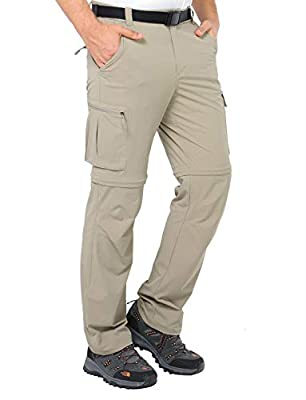 MIER Men's Convertible Pants