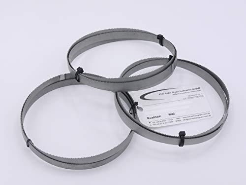 3er SET Sägeband Bi-Metall M 42 Abmessung 1140x13x0,65 mm 14 ZpZ z.B. für Güde MBS 105 V Bandsägeblatt Metallbandsägeblatt