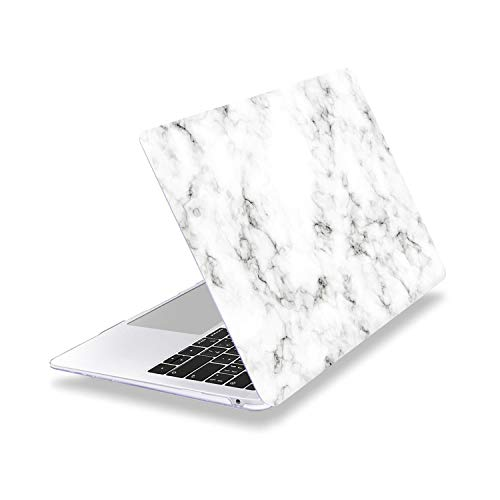 Peach-Girl Case for MacBook Pro 13 16 Inch, Soft Touch Transparent Laptop Case Cover for Mac Air 13 A1932 A1466 A2179-Z438-2020 Air 13 A2179