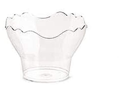 50 Copas de 200 cc Pre Go compostable biodegradable plástico transparente UNI...