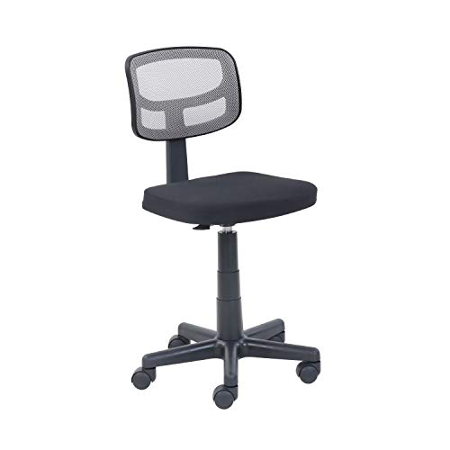 Mainstays Gray Mesh Task Chair with Plush Padded Seat