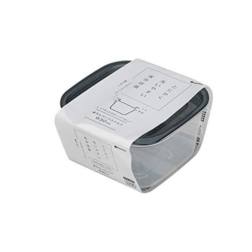 YUMEIGE Kosmetische Aufbewahrungsbox Kühlschrank Aufbewahrungsbox, Eierkarton Mikrowellenherd Heizung Food Box, Küchenkunststoff Lagerung Lunchbox, Stapelspeicher, Hochtemperaturbeständigkeit