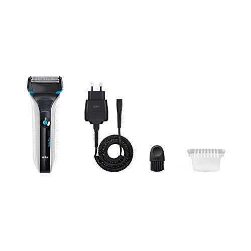 Braun WaterFlex WF2 - Afeitadora eléctrica Wet & Dry, color negro