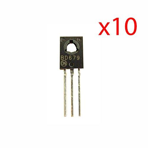 10 x Transistor Darlington BD679 NPN 80 V 4 A