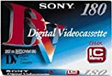 Sony - Digital Video-Kassette, DV Standard, 180 Minuten -