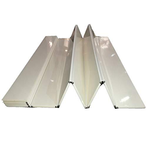 MNBVH Badewannenabdeckung, Anti-Staub-Platte, Badewannenbrett, Badewannenisolierungsabdeckung, Weiß, Mehrere Größen 165×75cm