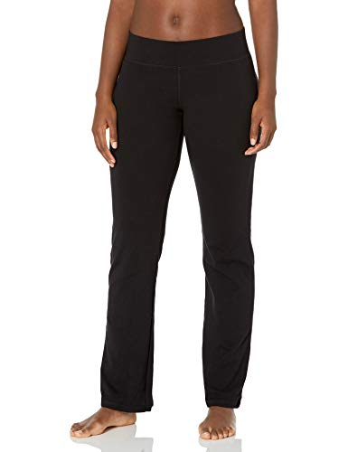 No Nonsense Women's Sport Yoga Pant, Black, X-Large
