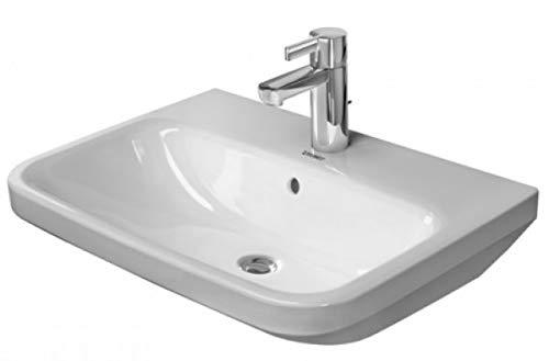 Duravit DuraStyle Waschtisch, 600 mm, 3 Hahnlöcher!! 600 x 440mm, weiß mit Wondergliss 2319600030, 23196000301
