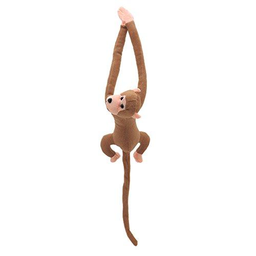 Xuniu Brazo Largo Cola Mono muñeca de Peluche Juguetes, Windom Cortina Coche decoración Regalo para niños niños