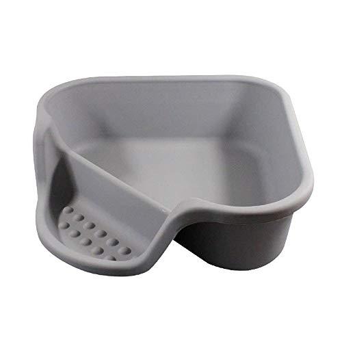 Axiba Huisdier toilet Kat Zand wastafel Open grijze kat toilet gemakkelijk schoon grote ruimte kat uitwerpselen wastafel