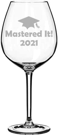 Insulated Stainless Steel Wine Glass 2021 Graduate Eventually Sloth Personalized