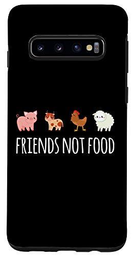 Galaxy S10 Friends Not Food Vegetarian Vegan Case