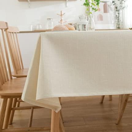 Manteles Decorativos de Lino sólido, manteles de Fiesta, manteles de Banquete, manteles de Boda, Estilo nórdico 140x180cm 1
