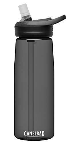 CamelBak eddy+ BPA Free Water Bottle, 25 oz, Charcoal