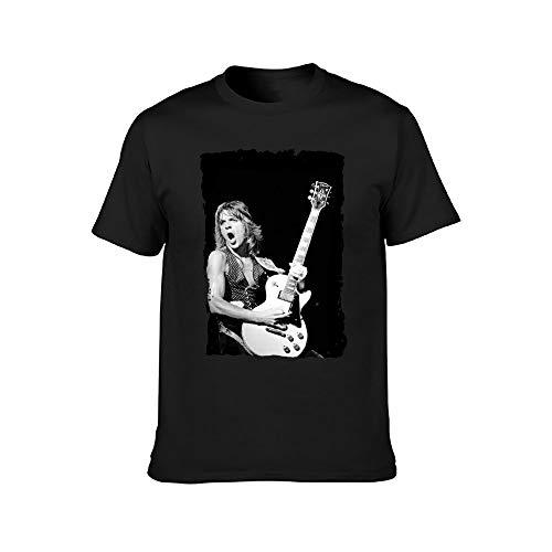 Randy Rhoads Fashion Men's Short Sleeve T-Shirt Black XL