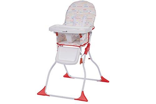 Safety 1st kinderstoel Keeny, compact en opvouwbaar, gemakkelijk te reinigen Rode lijnen